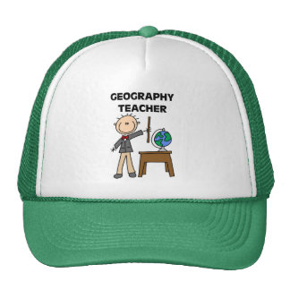 GEOGRAPHY TEACHER Tshirts and Gifts Cap