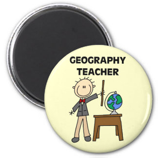 GEOGRAPHY TEACHER Tshirts and Gifts Magnet