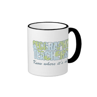 Geography Teachers Know Where It s At Coffee Mug