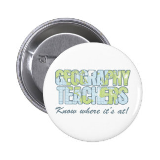 Geography Teachers Know Where It's At Pins