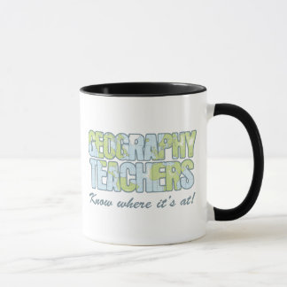 Geography Teachers Know Where It's At Mug