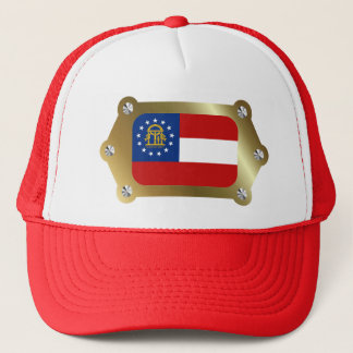 Geogria framed Flag Hat