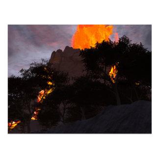 Geologic Activity Postcard