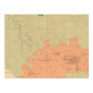 Geologic Map Of The Colorado Plateau Postcard