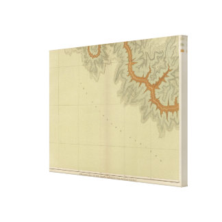 Geologic Map Of The Southern 2 Canvas Print