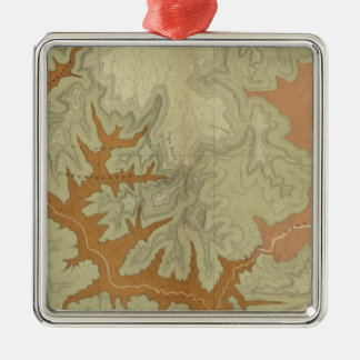 Geologic Map Of The Southern 2 Christmas Ornament