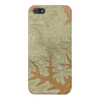 Geologic Map Of The Southern 2 iPhone 5/5S Cover