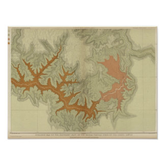 Geologic Map Of The Southern 2 Poster