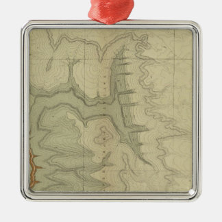 Geologic Map Of The Southern Christmas Ornament