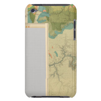 Geologic map sheets iPod touch case
