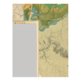 Geologic map sheets postcard