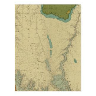Geologic Map Showing The Kanab Postcard
