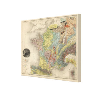 Geological France Canvas Print