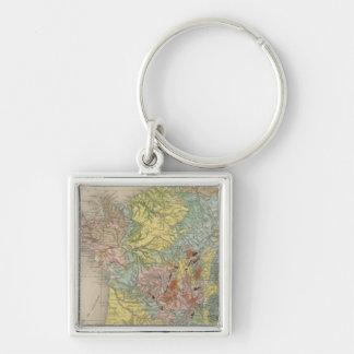 Geological France Key Ring