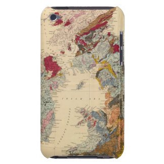 Geological map, British Isles Barely There iPod Cover
