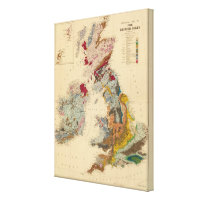 Geological map, British Isles