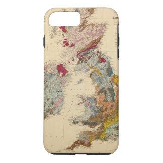 Geological map, British Isles iPhone 8 Plus/7 Plus Case