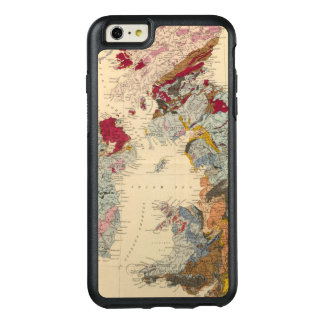 Geological map, British Isles OtterBox iPhone 6/6s Plus Case