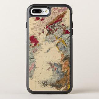 Geological map, British Isles OtterBox Symmetry iPhone 8 Plus/7 Plus Case