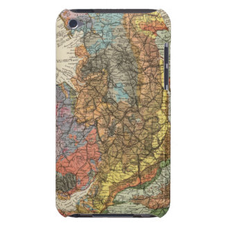 Geological map England, Wales iPod Touch Covers