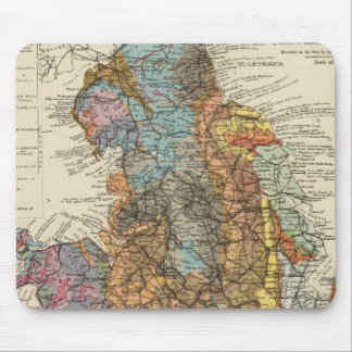 Geological map England, Wales Mouse Mat