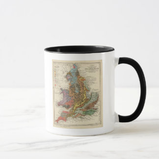 Geological map England, Wales Mug