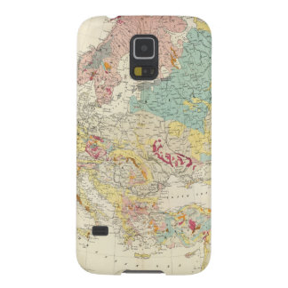 Geological map Europe Galaxy S5 Covers
