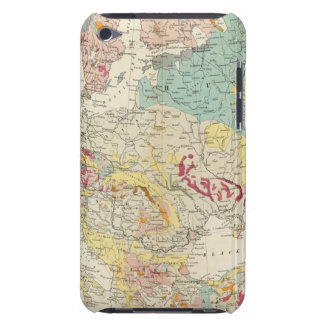 Geological map Europe iPod Touch Case-Mate Case