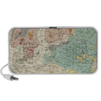 Geological map Europe Laptop Speaker