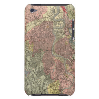 Geological map London iPod Touch Covers