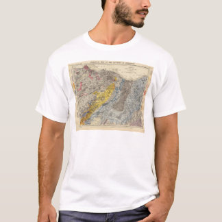 Geological map of Edinburgh T-Shirt