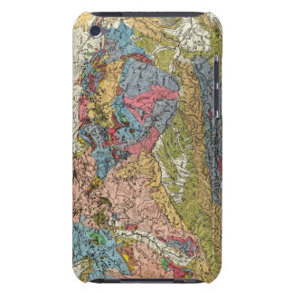 Geological map of Germany Barely There iPod Cases