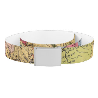 Geological map of Germany Belt