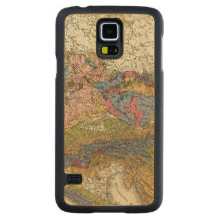 Geological map of Germany Carved Maple Galaxy S5 Case