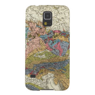 Geological map of Germany Galaxy S5 Case