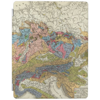 Geological map of Germany iPad Cover
