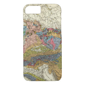Geological map of Germany iPhone 8/7 Case