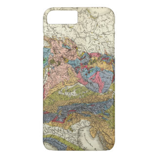 Geological map of Germany iPhone 8 Plus/7 Plus Case