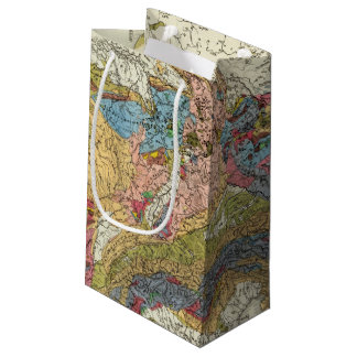 Geological map of Germany Small Gift Bag