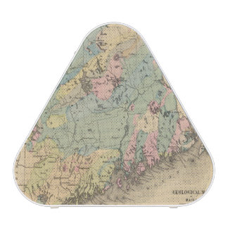 Geological map of Maine