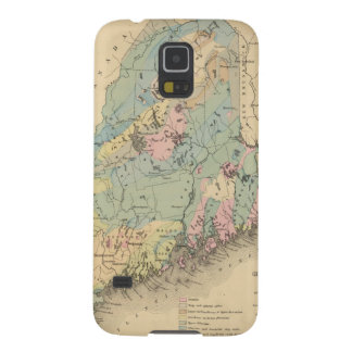 Geological map of Maine Galaxy S5 Case