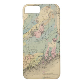 Geological map of Maine iPhone 8/7 Case