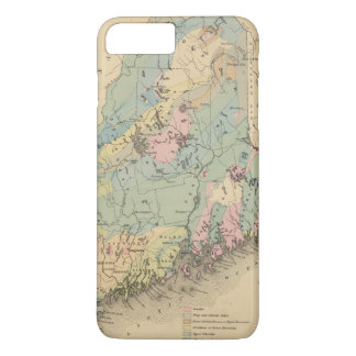 Geological map of Maine iPhone 8 Plus/7 Plus Case
