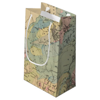 Geological map of Maine Small Gift Bag
