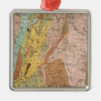 Geological Map of New Hampshire 2 Christmas Ornament