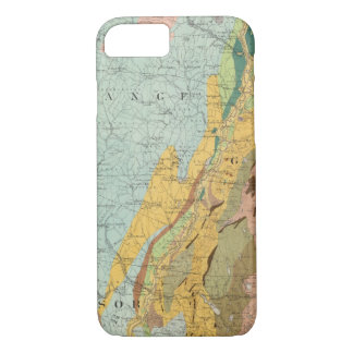 Geological Map of New Hampshire 2 iPhone 8/7 Case