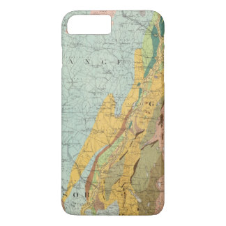 Geological Map of New Hampshire 2 iPhone 8 Plus/7 Plus Case