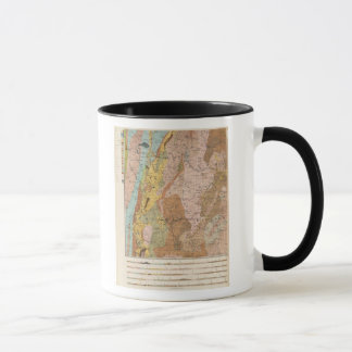 Geological Map of New Hampshire 2 Mug
