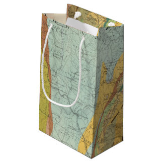 Geological Map of New Hampshire 2 Small Gift Bag