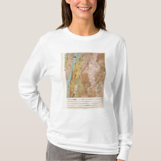 Geological Map of New Hampshire 2 T-Shirt